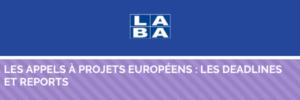 Les appels à projets européens
