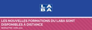 Nouvelles formations du LABA